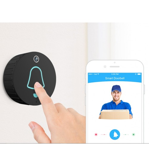 Cleverdog WiFi Video Doorbell with wireless Indoor Chime