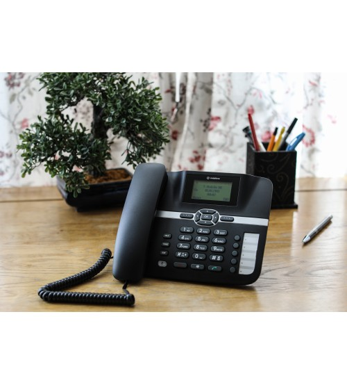 OFFICE GSM 3G DESK PHONE HUAWEI F610 WITH MOBILE SIM CARD