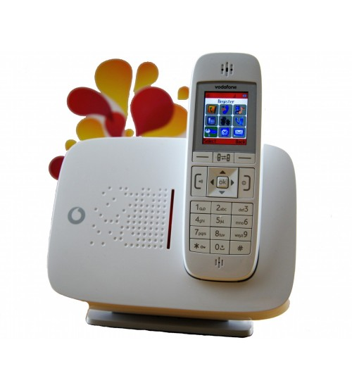 VODAFONE CORDLESS WIRELESS GSM PSTN LAND LINE DESK PHONE