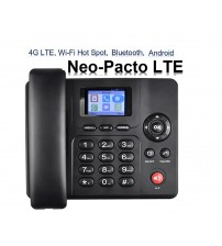 Capetune NEO-PACTO Lte 4G LTE GSM WiFi HotSpot Bluetooth Android Desk phone