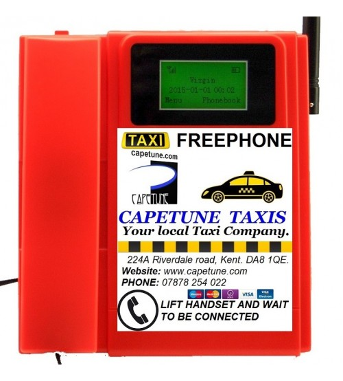 TELECOM500 GSM With Custom Faceplate RED