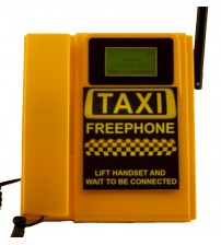 TELECOM500 GSM Wireless Taxi FreePhone HotDial AutoDial Wall Mount.