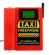 TELECOM500 GSM Desk phone HotDial AutoDial Taxi FreePhone. RED colour