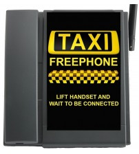 DPH500 GSM Taxi Phone with Full  Faceplate TELECOM500