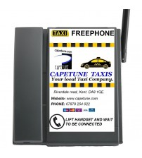 TELECOM500 GSM With Full Custom Faceplate BLACK