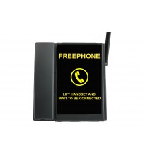 TELECOM500 GSM Taxi Phone with Full  Faceplate BLACK