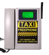 TELECOM500 GSM Desk phone HotDial AutoDial Taxi Wireless FreePhone. No Button