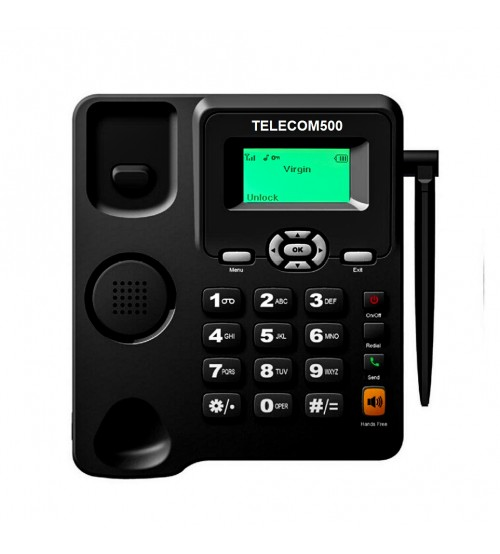TELECOM500 GSM Wireless Taxi FreePhone HotDial AutoDial Wall Mount. Buttons