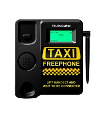 TELECOM500 GSM Desk phone HotDial AutoDial Taxi Wireless FreePhone with FacePlate