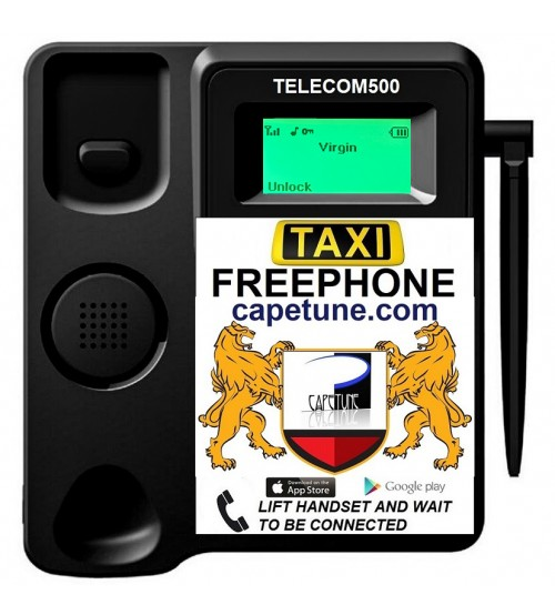 TELECOM500 GSM With Custom Faceplate BLACK