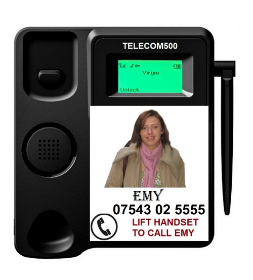 TELECOM500 Elderly Alzheimer Dementia, Care home & Hospital Phone